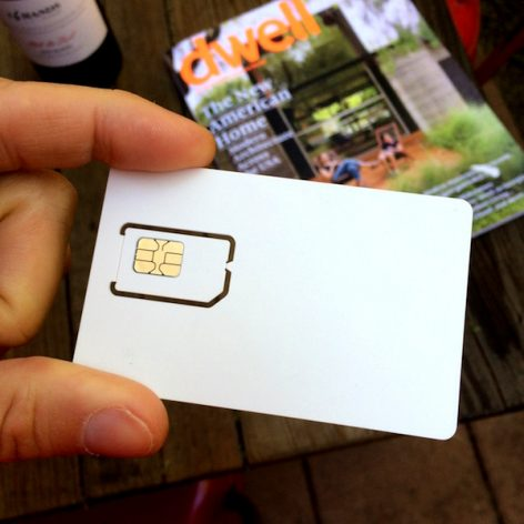 white label GSM SIM card